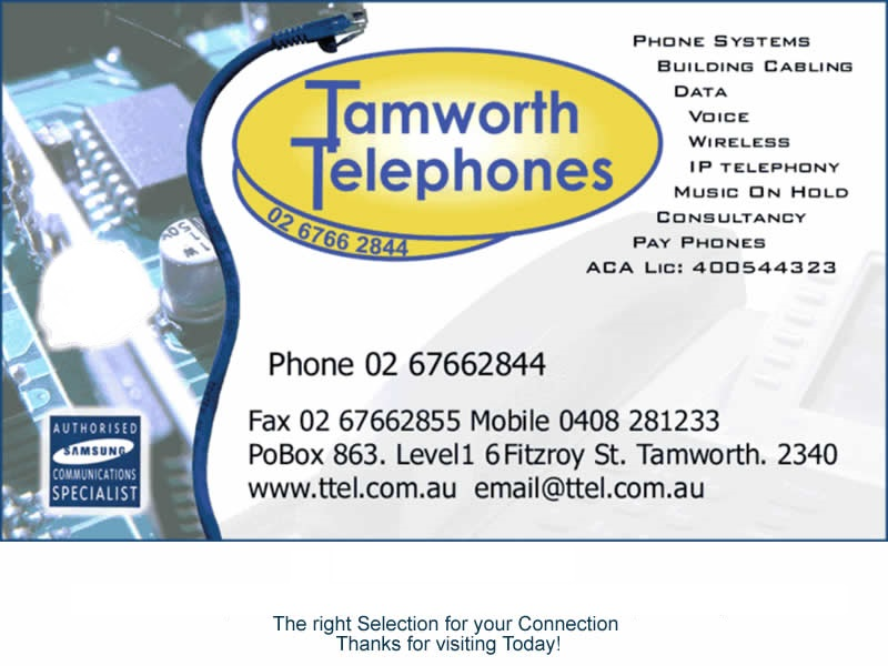 Tamworth Telephones